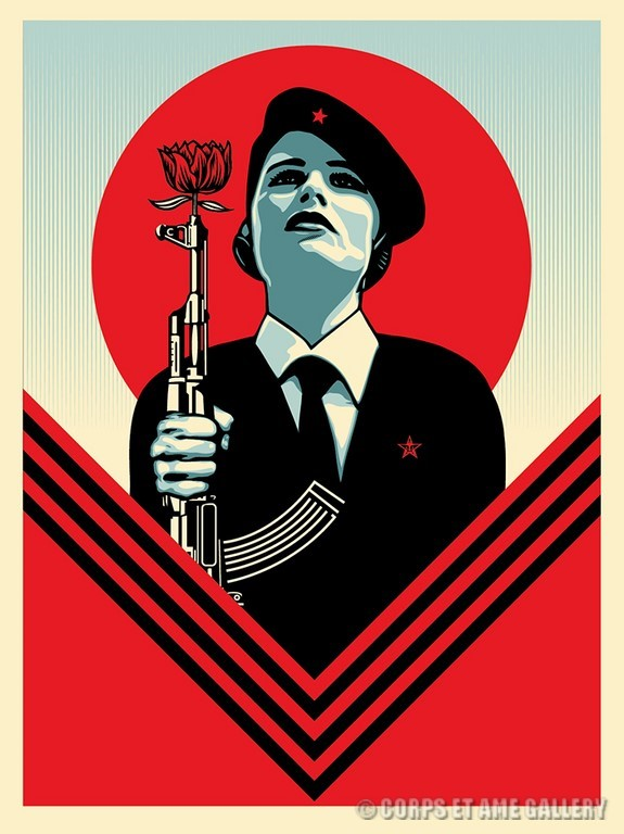 Shepard Fairey, obey, we the people