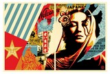 welcome visitors diptyque shepard fairey obey